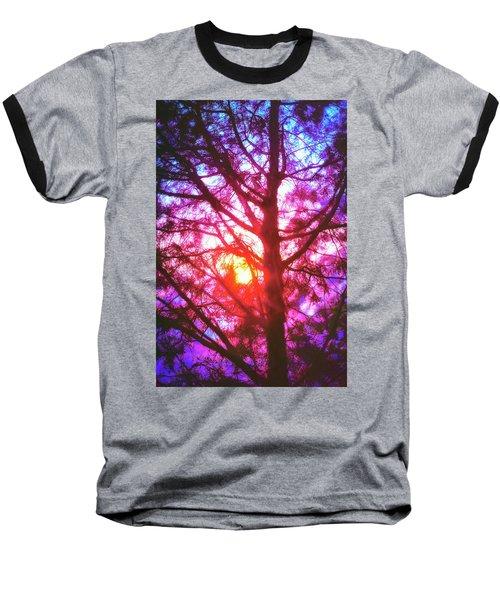 Woodland Cathedral Baseball T-Shirt