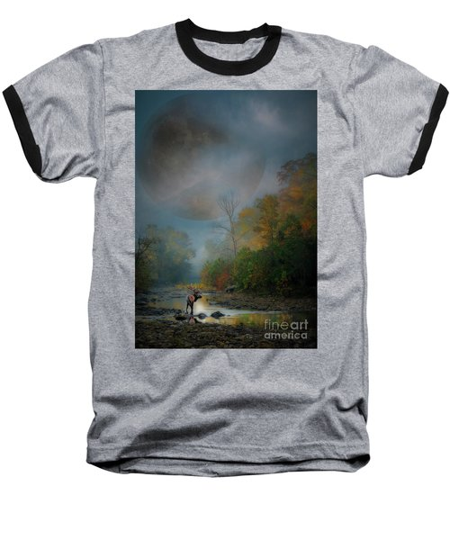 Woodland Elk Baseball T-Shirt