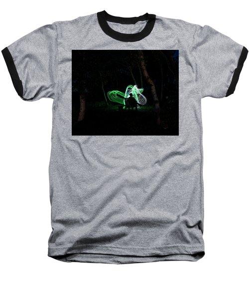 Woodland Fairies Baseball T-Shirt by Ellery Russell