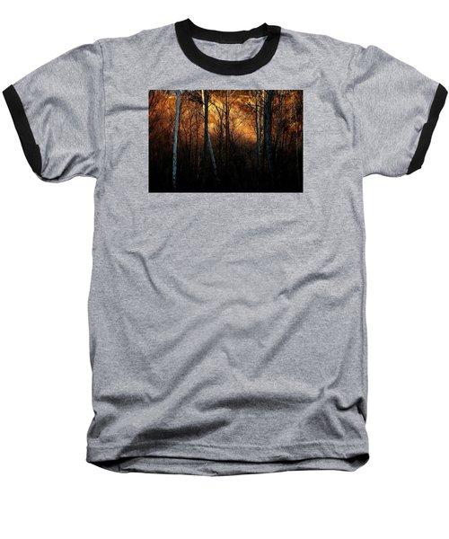 Woodland Illuminated Baseball T-Shirt