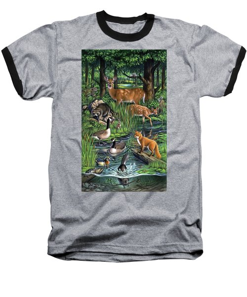 Woodland Baseball T-Shirt