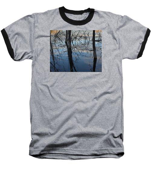 Woodland Pond Baseball T-Shirt