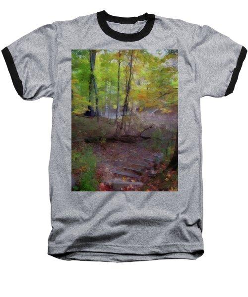 Woodland Steps Baseball T-Shirt