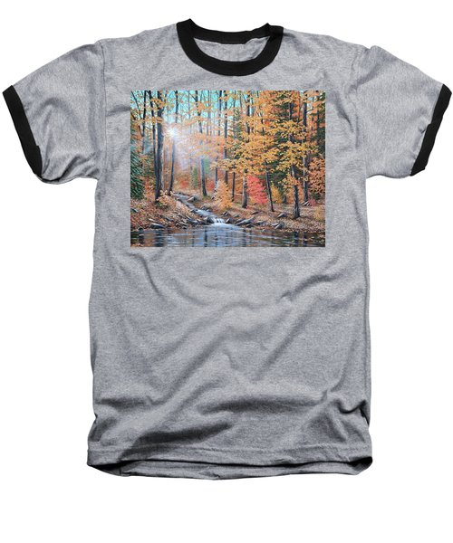 Woodland Trail Baseball T-Shirt