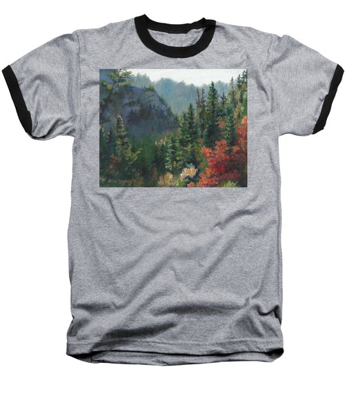 Woodland Wonder Baseball T-Shirt by Lori Brackett