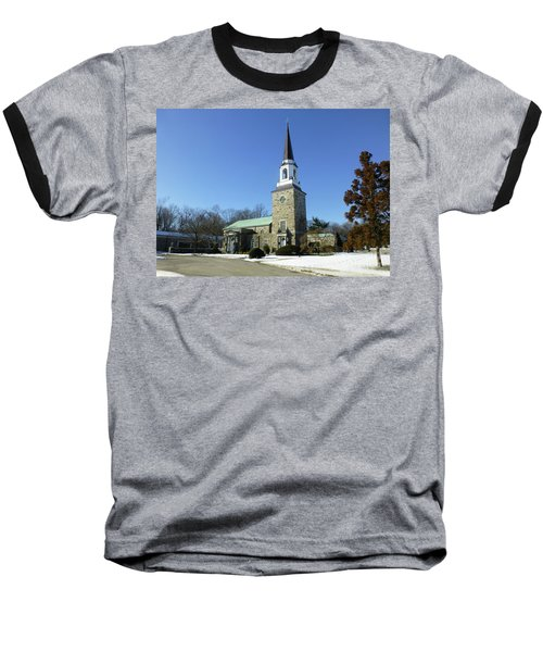 Woodlawn Cemetery Chapel Baseball T-Shirt