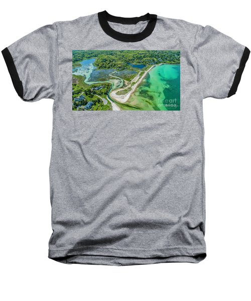 Woodneck Beach At 400 Feet Baseball T-Shirt