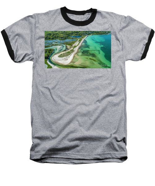 Woodneck Beach Baseball T-Shirt
