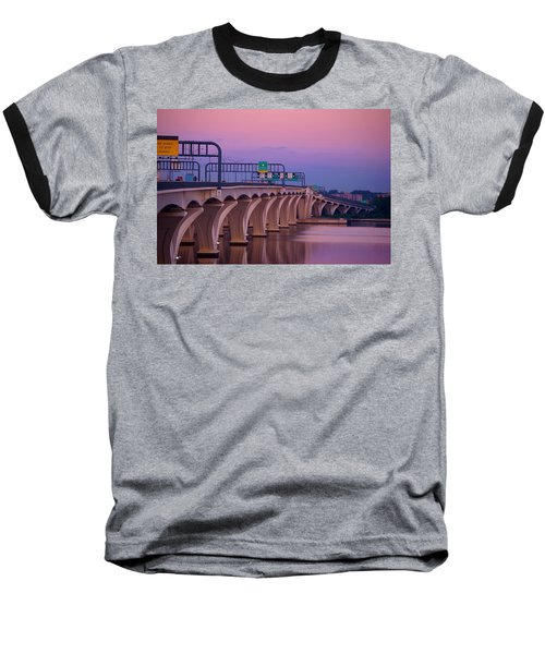 Woodrow Wilson Bridge Baseball T-Shirt