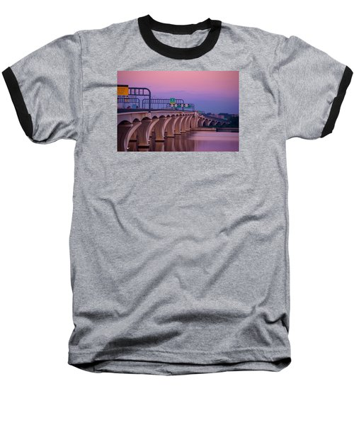 Woodrow Wilson Bridge Baseball T-Shirt