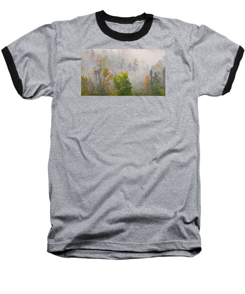 Woods From Afar Baseball T-Shirt