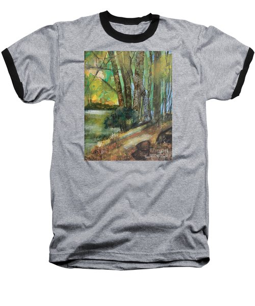Woods In The Afternoon Baseball T-Shirt by Robin Maria Pedrero