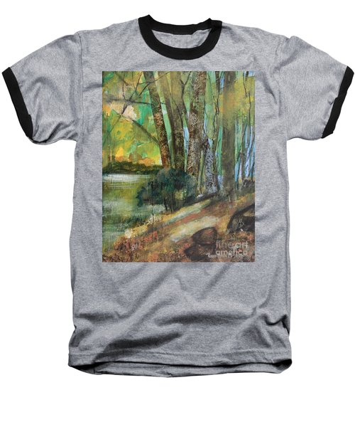 Woods In The Afternoon Baseball T-Shirt