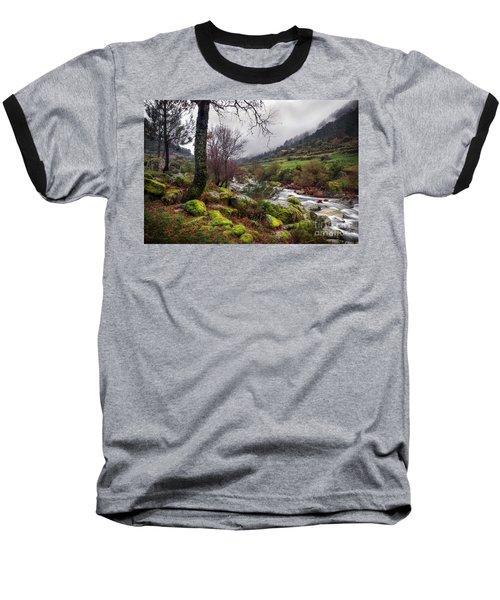 Woods Landscape Baseball T-Shirt