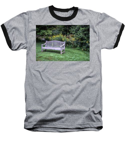 Woodstock Bench Baseball T-Shirt
