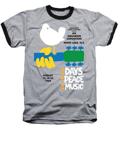 Woodstock Baseball T-Shirt