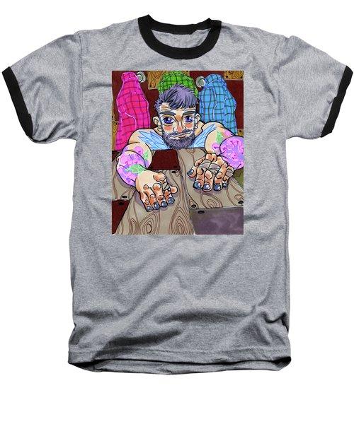 Woodworked Hands Baseball T-Shirt