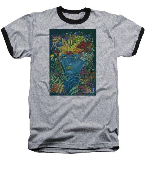 Woolly Bear Caterpillar Baseball T-Shirt by Dawn Fairies