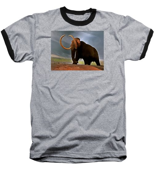 Woolly Mammoth Baseball T-Shirt