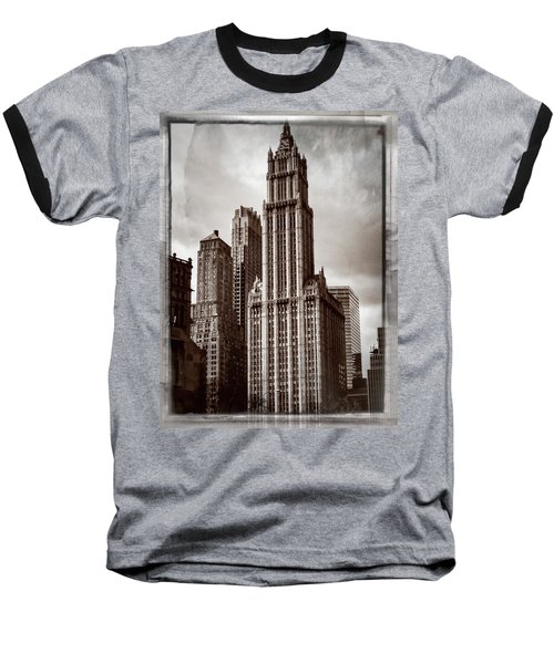 Woolworh Building 2008. Baseball T-Shirt