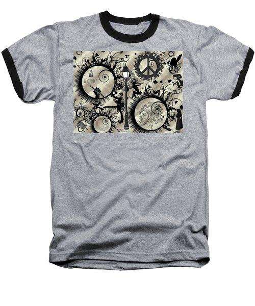 Words Pale Baseball T-Shirt