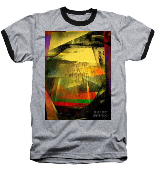 Baseball T-Shirt featuring the painting Work Bench by Greg Moores