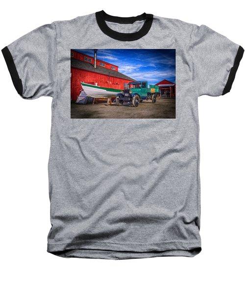 Work Truck, Mystic Seaport Museum Baseball T-Shirt
