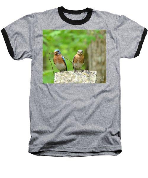 Working Couple Baseball T-Shirt