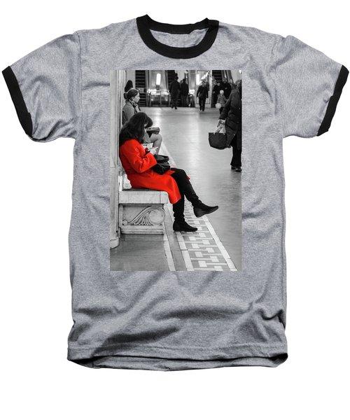 Working Girl Baseball T-Shirt