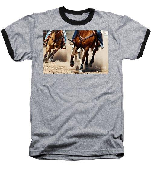 Working Baseball T-Shirt by Kathy McClure