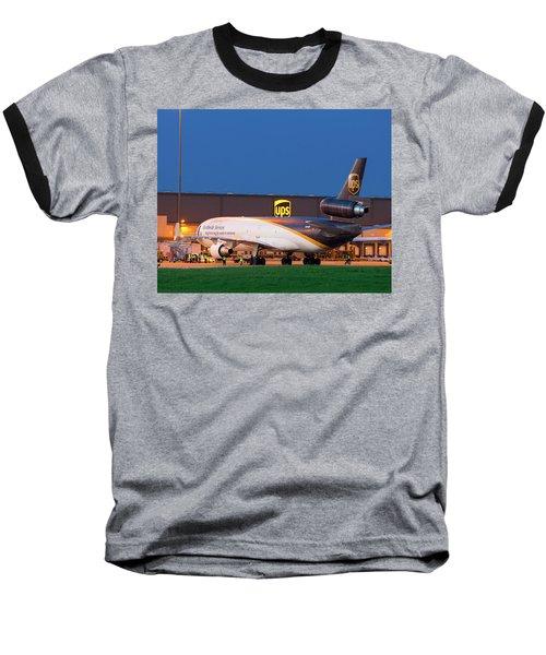 Working The Night Shift Baseball T-Shirt