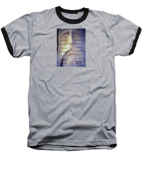 Works Of Mercy Baseball T-Shirt by Jean OKeeffe Macro Abundance Art