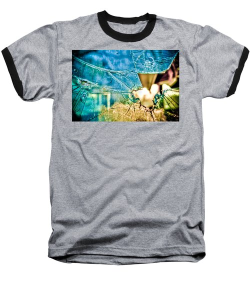 Baseball T-Shirt featuring the photograph World In My Eyes by TC Morgan