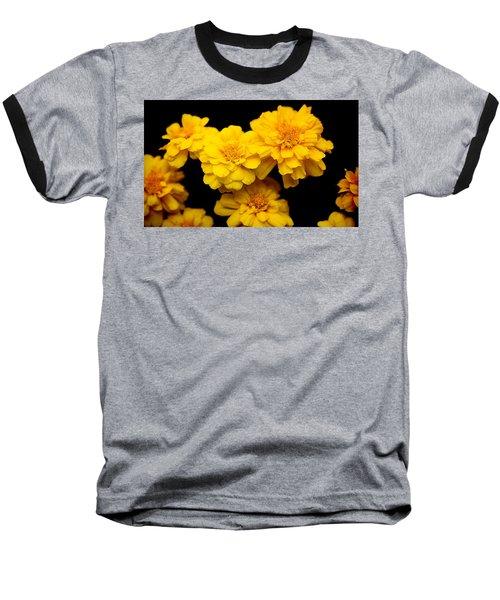 World In Yellow Baseball T-Shirt