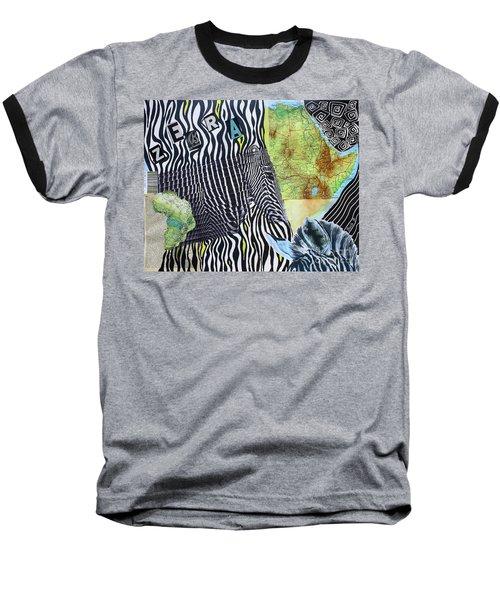 World Of Zebras Baseball T-Shirt