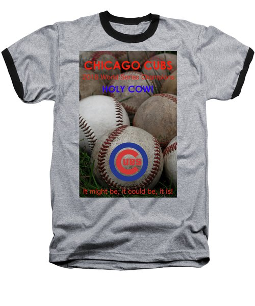 World Series Champions - Chicago Cubs Baseball T-Shirt