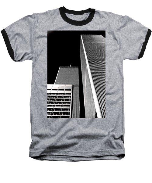World Trade Center Pillars Baseball T-Shirt
