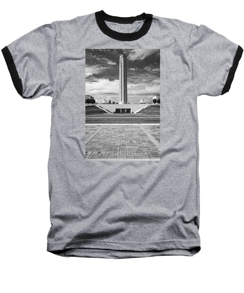 World War I Memorial And Museum Baseball T-Shirt