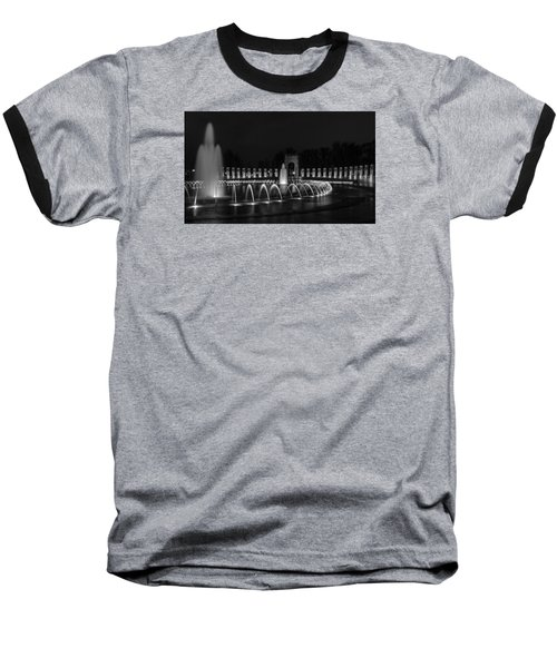 World War II Memorial Baseball T-Shirt