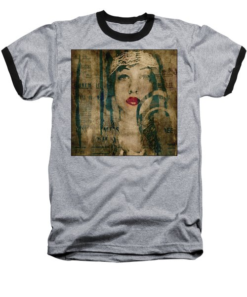 Baseball T-Shirt featuring the photograph World Without Love  by Paul Lovering