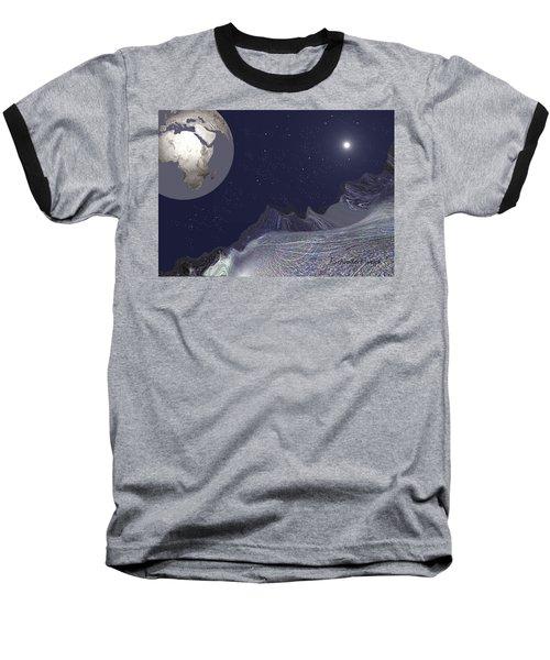 1657 - Worlds - 2017 Baseball T-Shirt by Irmgard Schoendorf Welch