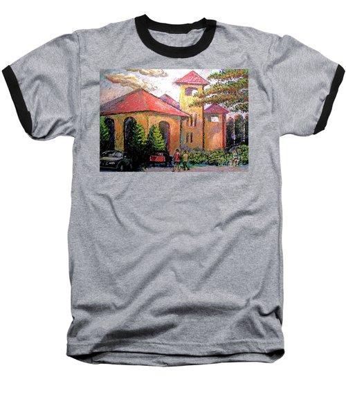 Worlds Fair Pavilion In Forest Park Baseball T-Shirt