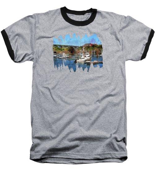 Worlds Smallest Harbor Baseball T-Shirt