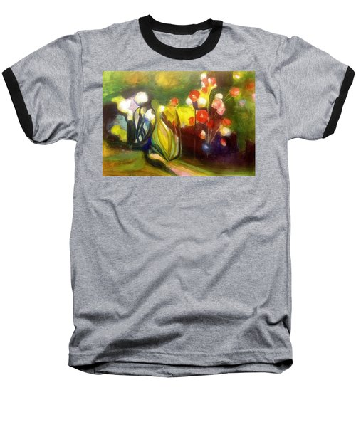 Warm Flowers In A Cool Garden Baseball T-Shirt
