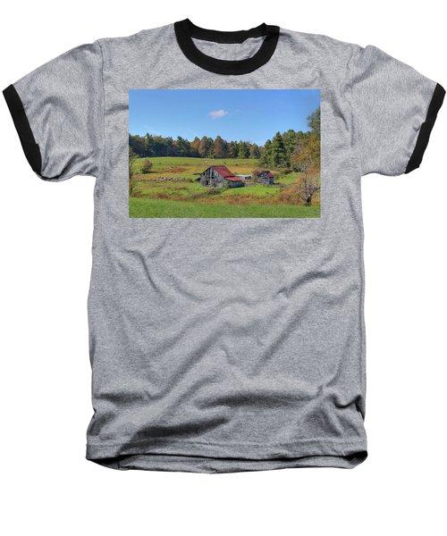 Baseball T-Shirt featuring the digital art Worn Out by Sharon Batdorf