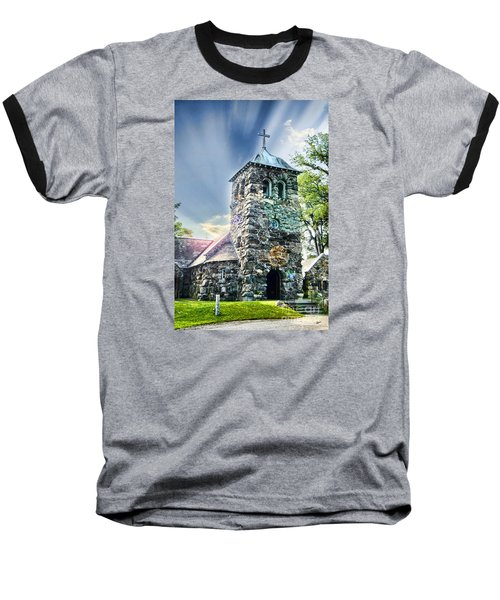 Baseball T-Shirt featuring the photograph Worship by Alana Ranney