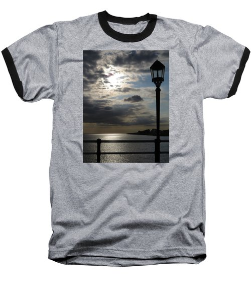Worthing Seafront From The Pier Baseball T-Shirt by John Topman