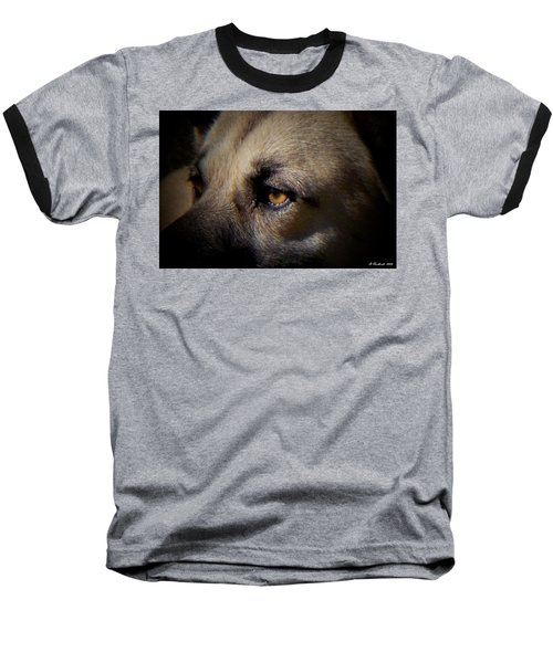 Baseball T-Shirt featuring the photograph Wounded by Betty Northcutt