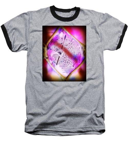 Woven Web Baseball T-Shirt