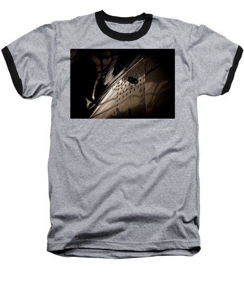 Baseball T-Shirt featuring the photograph Wow, Look At The Reflections by Paul Job